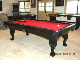 design help for room wall color for red felt pool table