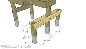 Portable Shooting Bench Building Plans Free Shooting Bench Plans Myoutdoorplans Free Woodworking