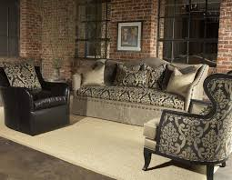 Leather And Upholstered Sofa Leather Fabric Combo Sofa 1025theparty