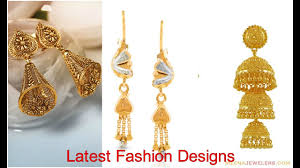 new jhumka earrings beautiful jhumka earrings designs for new year collection 2018