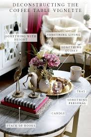 My Formula for a Perfect Coffee Table Vignette
