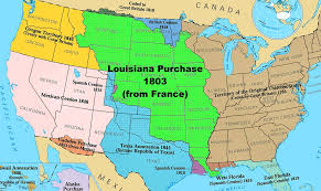 Show Me Map Of United States by With The Louisiana Purchase In 1803 The United States Pu