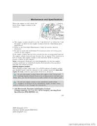 washer fluid ford escape 2004 1 g owners manual