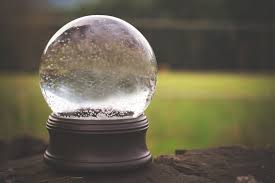 snow globes and reality living in two worlds