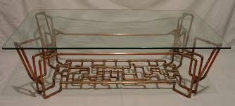 copper pipe coffee table rascalartsnyc