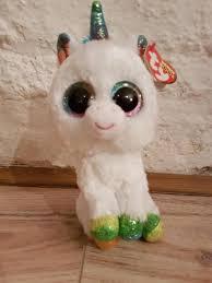ty beanie boo pixy unicorn 15cm glitter eyes ebay