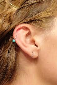 ear piercing hoop cartilage piercing hoop earrings beautify themselves with earrings
