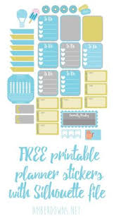 free printable stickers icon labels planning free printable