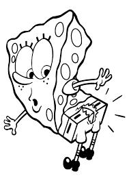 Spongebob Coloring Pages 5 Coloring Kids Coloring Pages Sponge Bob