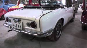 classic honda a detailed look at a classic honda convertible roadster youtube