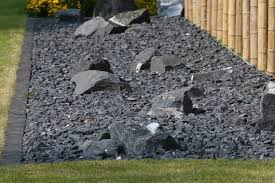 Black Garden Rocks The 5 Best Ways To Use Rocks In Your Landscape Wilson Blacktop
