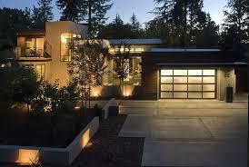 Landscape Lighting Cable Concrete Driveway Design Ideas Landscape Contemporary With Cable