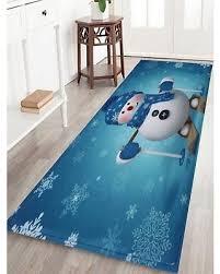 Snowman Rug Spectacular Deal On Antislip Christmas Snowman Print Bath Rug