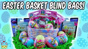 hello easter basket easter basket blind bags shopkins littlest pet shop and hello