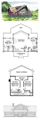 small cabin layouts w1492 v1 modern style cottage house plan 3 bedrooms including one