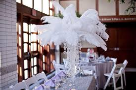 ostrich feather centerpiece 18 ostrich feathers 12 set with 24 eiffel tower vase