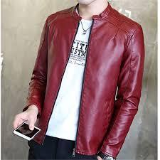 plus size light jacket plus size pu mens lightweight jacket casual zipper fashion men basic