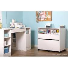 Craft Storage Cabinet South Shore Crea Craft Storage Cabinet On Wheels Pure White