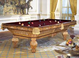 brunswick exposition novelty 9 ft pool table