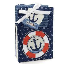 amazon com ahoy nautical party favor boxes set of 12 toys
