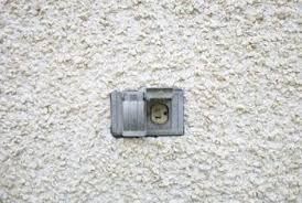 how to install an exterior outlet box in stucco home guides sf gate