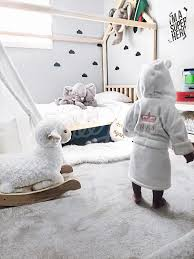 grey elephant theme boys room house bed children bed home