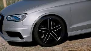 audi a3 mods gta 5 audi a3 sedan 2 0t 2015 mod gtainside com