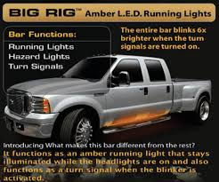 aftermarket lights for trucks 62 inch big amber running lights ford dodge chevy trucks suv