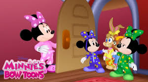 slumber party minnie u0027s bow toons disney junior