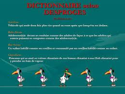 bureau dictionnaire dictionnaire selon desproges ppt télécharger