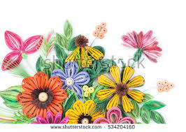 Flower Designs On Paper Paper Quilling Stock Images Royalty Free Images U0026 Vectors