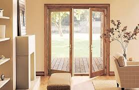 Wood Patio Doors Room With Wood Decorated Patio Doors