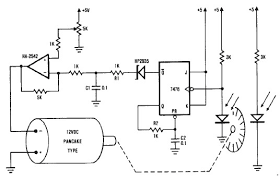 dc motor speed controller diagram electrical electronics
