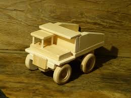 wooden toy dump truck construction toys handmade boys birthday