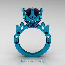 turquoise and wedding ring modern antique 14k turquoise gold 3 0 carat black