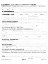 doc 575709 sample change of address form u2013 notice of change of
