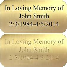 customized plaques with photo customized engraved brass plaque plate beauty
