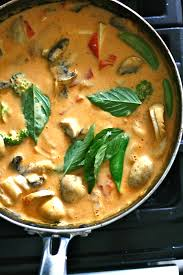Thai Red Pumpkin Curry Recipe by Panang Curry Recipris