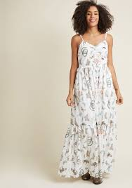 maxi dress in your nature maxi dress in fauna modcloth