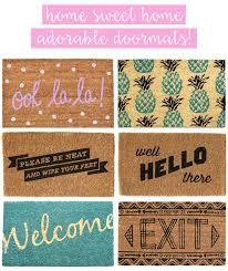 funny doormats cute front door mats thefunkypixel com