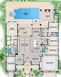 One Story Luxury Home Floor Plans Best 25 One Level House Plans Ideas On Pinterest One Level