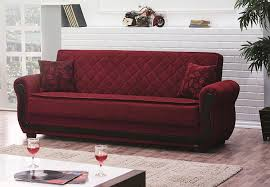 living room loveseat sleeper sofa with red modern sofa and brown