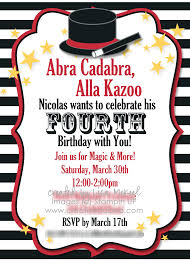 make your own party invitation magic birthday party invitations vertabox com