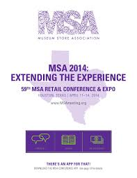 2014 msa conference u0026 expo program book u0026 expo guide by museum