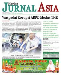 harian jurnal asia edisi senin 19 juni 2017 by harian jurnal asia