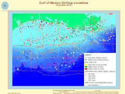 Map Of Gulf Of Mexico Gulf Of Mexico Oil And Gas Industry