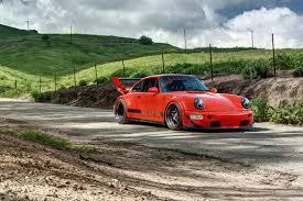 porsche 964 rwb rauh welt rwb 1989 porsche 911 964 carrera 4 3 6l turbo widebody