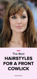 women haircuts with cowlick hairstyles cowlick bangs hair