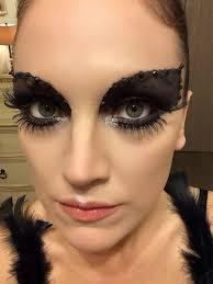 Black Swan Costume Halloween 25 Swan Images Black Swan Makeup