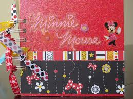 minnie mouse photo album items similar to minnie mouse scrapbook mini album party minnie